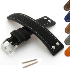 Military/Aviator Riveted Watch Strap