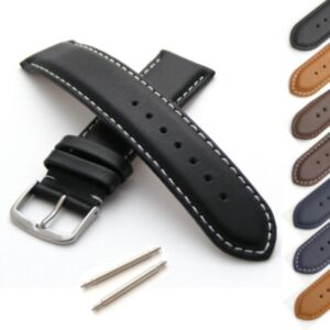 Calf Leather Watch Strap M or XL Length