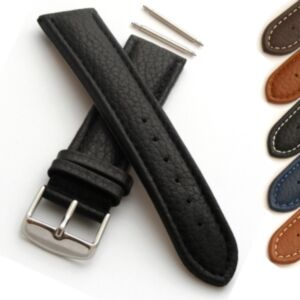 Grained Calf Leather Watch Strap